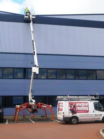 High Level Access Equipment by Coventry Industrial Roofing